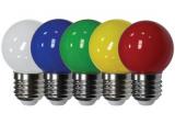 Лампы цветные