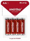Батарейка алкалиновая Smartbuy LR6-4B