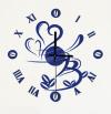 Часы-наклейка с маятником1*АА батарея (в комплект не входит) NL31