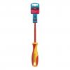 Отвертка Smartbuy диэлектрическая шлицевая SL3*100 до 1000В VDE прорез. ручка, серт. испыт.Tools