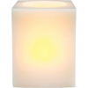 Декоративная свеча FL068 2LED янтарный,прямоугольная