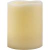 "Декортаивная свеча FL084 1шт*""LED RGB,с П/У,короткий цилиндр"