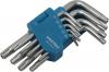 """Набор ключей Smartbuy """"TORX"""" с отверстием 9 шт: 10,15,20,25,27,30,40,50"""