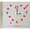 Часы-наклейка с маятником 1*АА батарея(в комплект не входит) NL37