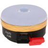Светодиодный фонарь 3 Вт LED +2 Вт COB с карабином для подвешивания