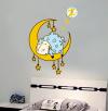 Часы-наклейка с циферблатом 1*АА батарея (в комплект не входит) NL21