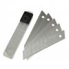 Лезвия 18 мм для ножа технического (строительного) 10 штук, сегментированные