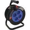 Удлинитель на катушке Smartbuy 4 гнезда 10 м 10А/2,2кВт без заземл. с предохранит.ПВС 2х1,0