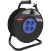 Удлинитель на катушке Smartbuy 4 гнезда 50 м 10А/2,2кВт без заземл. с предохранит.ПВС 2х1,0