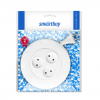 Удлинитель Smartbuy 3 гнезда 3 метра 10А/2,2кВт, б/з, круглый