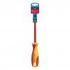 Отвертка Smartbuy диэлектрическая шлицевая SL4*100 до 1000В VDE прорез. ручка, серт. испыт.Tools