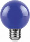 Светодиодная лампа LB-371 3Вт синяя