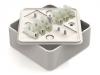 Коробка распаячная КР 75х75х28 ОП с клем. колодкой белая IP40