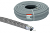 Металлорукав в ПВХ-изоляции РЗ-Ц-П 15 серый с протяжкой (25м)