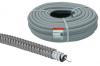 Металлорукав в ПВХ-изоляции РЗ-Ц-П 32 серый с протяжкой (25м)