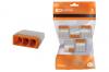 Строительно-монтажная клемма КБМ-2273-233 (2,5мм2) с пастой (5 шт/упак)