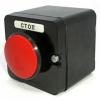 Пост кнопочный ПКЕ 222-1 красный гриб IP54