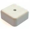 Коробка распаячная КР 50х50х20 ОП с клем. колодкой белая IP40