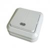 Выключатель 2-кл. открытой установки с подсветкой IP20 10А