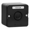 Пост кнопочный ПКЕ 222-1 черный IP54