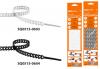 Стяжка чёрная ПУ многозвенная RS 10x300 (20 шт)