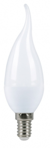 Светодиодная лампа 5Вт свеча на ветру