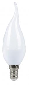 Светодиодная лампа 7Вт свеча на ветру 3000К