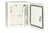 Корпус металлический ЩУ-3ф/1-1-6 IP66 (2 двери) (445х400х150)